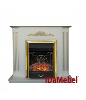 Каминокомплект IdaMebel Catarina Gold